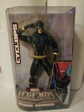 "Rare 2007 Cyclops Marvel Legends Icons Series 12"" Action Figure Toy X-MEN Hasbro"