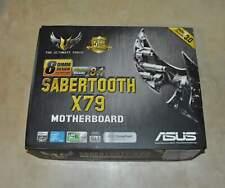 Asus TUF Sabertooth X79 LGA 2011 Intel SATA 6Gb/s ATX Motherboard F1M New