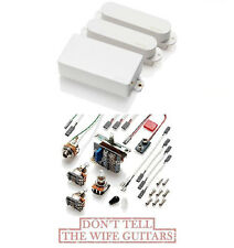 EMG SA SA 85 WHITE HSS STRAT PICKUPS SET (FREE WORLDWIDE SHIPPING) Stratocaster