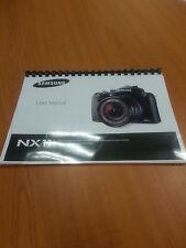 SAMSUNG NX11 14.6mp  DIGITAL CAMERA  PRINTED USER GUIDE INSTRUCTION MANUA