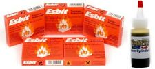 Esbit 5 pack and Valvata Steam Oil  For Jensen, Mamod and Wilesco Steam Engine