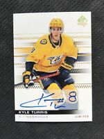 2019-20 UPPER DECK SP AUTHENTIC KYLE TURRIS LIMITED AUTOGRAPH AUTO GOLD #32