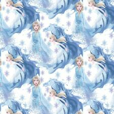 Fabric Disney Frozen Elsa Cotton Print - Half Yard
