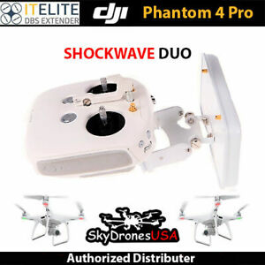 Itelite DBS Flight Range Antenna - DJI Phantom 4 PRO / Inspire2- SHOCKWAVE DUO