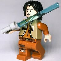 STAR WARS lego EZRA BRIDGER rebels jedi padawan GENUINE 75090 NEW speeder bike