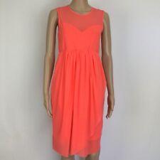 ASOS Maternity Sleeveless Mesh Dress NWT Size 8 (BL13)