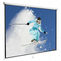 Dakavia Manual Pull Down Projection Screen Matte White Home HD Movie Theater