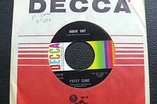 """7"""" Patsy Cline - Hidin' Out/ Have You Ever Been Lonely - USA DECCA"""