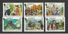 Jersey 1989 Revolución francesa SG, 501-506 Um/M N/H Lote R39