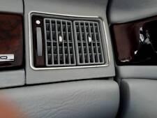 D Audi 80 B4 Cabrio Chrom Rahmen für Lüftungsschacht außen - Edelstahl poliert