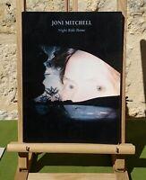 JONI MITCHELL - NIGHT RIDE HOME - PARTITION EN ÉTAT CORRECT - TRÈS RARE
