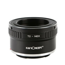 T2-NEX Adapter for Andoer T2 Mount Lens to Sony NEX E Mount Camera/ K&F Concept