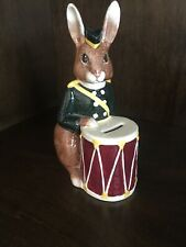 Royal Doulton Drummer Bunny Bank - D.6615 - Dated 1967