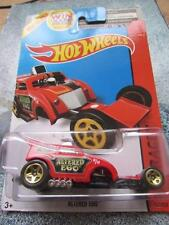 Hot Wheels 2014 #167/250 ALTERED EGO red HW RACE Long Card