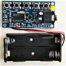Wireless Stereo FM Radio Receiver Module PCB DIY Electronic Kits 76MHz-108MHz