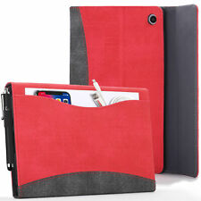 Apple iPad 10.2 2019 Case, Cover, Stand - Red + Stylus & Screen Protector