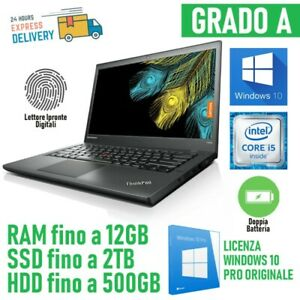 PC Portable Entreprise Ordinateur Ultrabook Lenovo T440S I5 4300U Windows 10 Pro