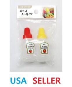 Mini Squeeze Sauce Bottle Picnic Ketchup Mustard Bottle Picnic Sauce Bottle