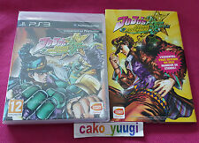 JOJO'S BIZARRE ADVENTURE ALL STAR BATTLE SONY PS3 + MINI GUIDE 100% FRANCAIS