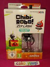 CHIBI -ROBO ! ZIP LASH AMIIBO BUNDLE JEU 3DS +AMIIBO CHIBI-ROBO NEUF PAL EUROPE