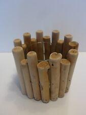 Windlicht Treibholz mit glas Kerze Teelicht Retro Shabby Rustikal Teelichthalter