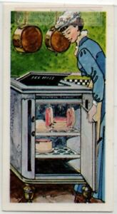Home Refrigerator History Invention And Development Vintage Ad Trade Card