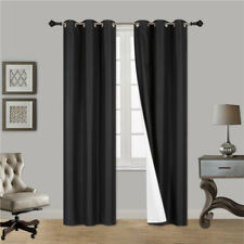 INSULATED FOAM LINED THERMAL BLACKOUT GROMMET WINDOW CURTAIN K92 1PC Panel