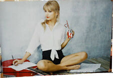 Taylor Swift BANNER Diet Coke 27x40 vinyl poster ADs promo soda can