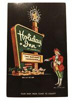 Holiday Inn South Lansing, Michigan MI Postcard - 1958 The Nation's Innkeeper