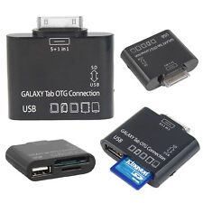 USB Adapter 5 in 1 OTG Cable for Samsung Galaxy Tablet Tab 2 Plus 7.0 10.1 P3100