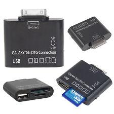 5 in 1 OTG Adapter USB SD Card Reader Samsung Galaxy Tab 2 Plus 7.0 10.1 P3100