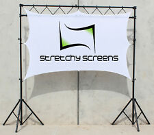 DJ SCREEN, VJ SCREEN, MOVIE SCREEN,10' X 7', FRONT/REAR PROJECTION SCREEN