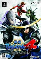 USED PS3 PlayStation 3 Sengoku Basara4 Special Package 55819 JAPAN IMPORT