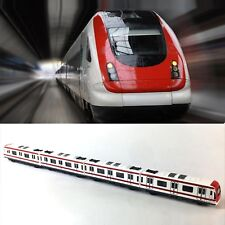 Train Model, 4pcs Toy Car Set Alloy City Rail Subway Train Model ,1/64 Scale ...