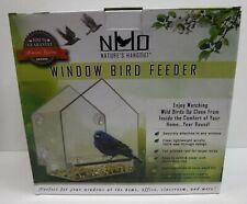 Clear Window Bird Feeder