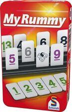 Schmidt Spiele My Rummy in Metallbox Reisespiel Legespiel Kartenspiel Rummikub