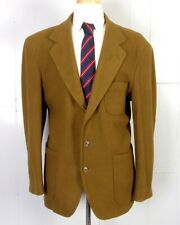 vtg 80s 90s Banana Republic Adventure Travel Blazer Wool Patch Pocket brown Sz L