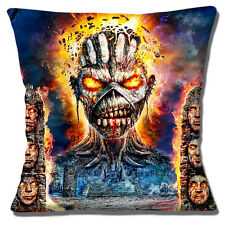 "NEW SCARY SKULL SKELETON STATUES PC GAMING WAR GAMES 16"" Pillow Cushion Cover"