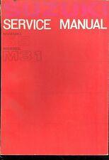 1964 SUZUKI 55 / M31 SERVICE MANUAL OEM