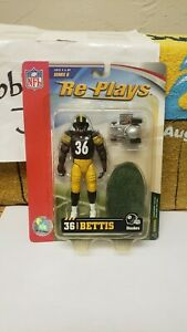 """NIB 5"""" 2006 JEROME BETTIS PITTSBURGH STEELERS ACTION FIGURE SERIES 2 RE PLAYS"""