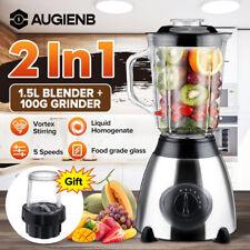 850W 1,5L Standmixer Smoothie Maker Mixer Blender Milchshaker Küchenmaschine DE