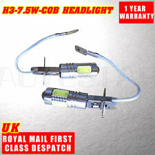 2 X H3 CREE LED COB Super White Car Fog Day Head Light Bulb HID Headlight 12V
