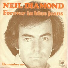 7inch NEIL DIAMOND forever in blue jeans HOLLAND 1979 EX   (S1692)