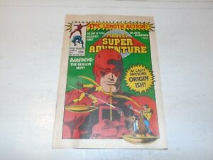 MARVEL SUPER ADVENTURE Comic - No 8 - Date 24/06/1981 - UK paper Comic