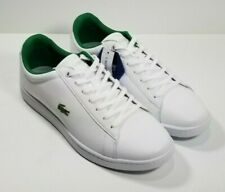 🔥NEW! Lacoste Hydez Men's SZ 11 White Leather Lace Up🔥