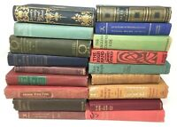 Lot 5 GORGEOUS VINTAGE rare old BOOKS mix unsorted BEAUTIES Ships FREE!
