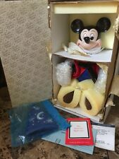 MIB Franklin Mint DISNEY Mickey Mouse THE SORCERER'S APPRENTICE Premier Ed Doll