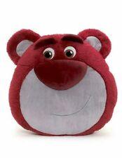 Disney lotso bear 3d face cushion pillow toy story pink huggable villain NEW