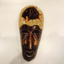 wall art Hanging plaque sculpture display mask sign tiki african
