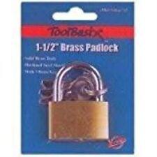 Toolbasix Tge-Bp403L Padlock Key, 1-1/2-Inch, Brass